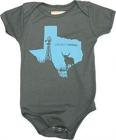 My new favorite baby gift... Locally grown clothing company lots of different states but Texas is the BEST! 100% cotton Made in the USA