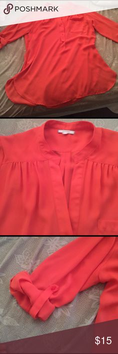 Antropology top Anthropology  pleione brand  beautiful top amazing conditions sz M Anthropologie Tops Blouses