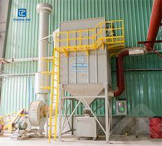 Sử dụng hệ thống hút lọc bụi cho nhà máy sản xuất xi măng