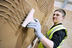 Plastering course are available at Derby College to full and part time students.  You can study Plastering at our Ilkeston and Roundhouse campuses.