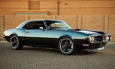 Black Pontiac Firebird