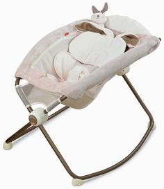 Fisher-Price Deluxe Newborn Rock 'N Play Sleeper, Snugabunny (Discontinued by Manufacturer)