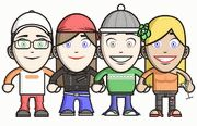 Human Characters - Web tools for kids