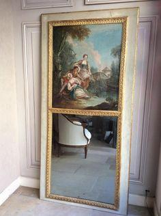 Trumeau d'époque Louis XVI, Antiquités Sylvain Rochas, Proantic