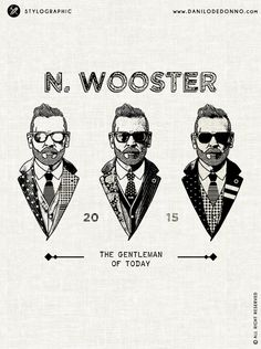 "It' s a real pleasure for me to show you the artwork inspired to Nick Wooster ""The Gentleman of Today"". A style icon  with tailored blazers, handlebar mustache and tattoo who continues to inspire me with his outfit. In addition to its numerous references, he currently designs also a capsule collection for the Lardini Group.   Artwork made by Danilo De Donno (Stylographic Studio)  © ALL RIGHT RESERVED  © ALL RIGHT RESERVED www.danilodedonno.com #freeagent #style #fashion #menswear #lardini"
