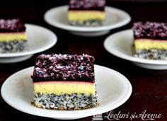 Romanian Desserts, Romanian Food, Sweet Treats, Cheesecake, Good Food, Dessert Recipes, Food And Drink, Ice Cream, Sweets