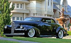 1940 Cadillac LaSalle Maintenance of old vehicles: the material for new cogs/casters/gears could be cast polyamide which I (Cast polyamide) can produce