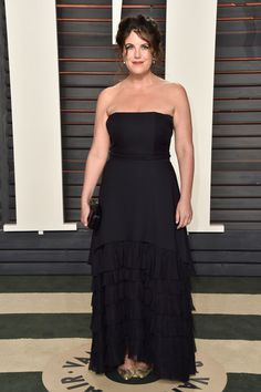 Monica Lewinksy Wows At The Vanity Fair Oscars Party