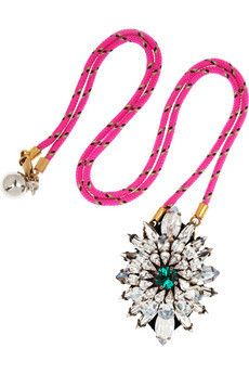 Shourouk Leimotiv silver-plated #Necklace