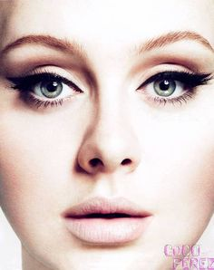 Adele Vogue 2012