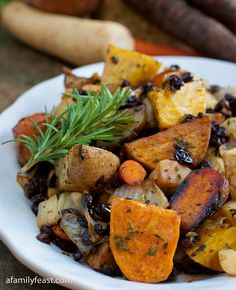 Roasted Root Vegetables - The most delicious way to prepare these vegetables!