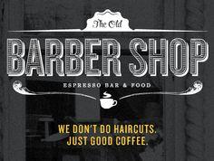 Barber Shop Typography