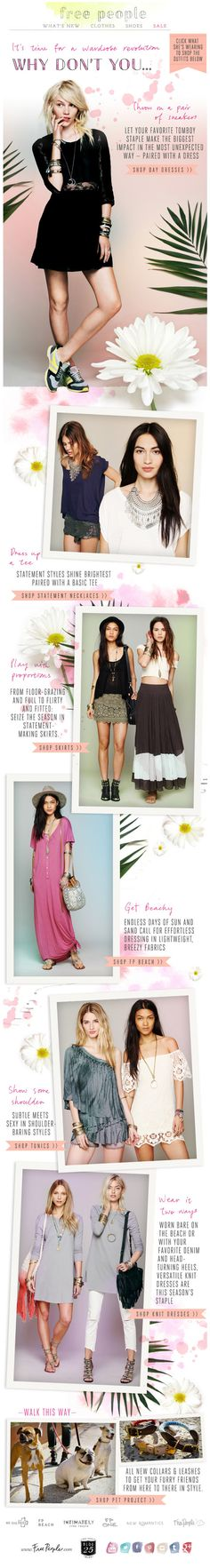 Free People : Looks + New Arrivals
