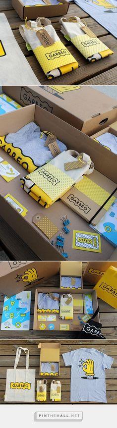Garbeo / promotional packaging for Studio Garbeo #tshirtdesign
