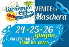 Torre del Greco, torna il Carnevale Estivo dal 24 al 26 giugno