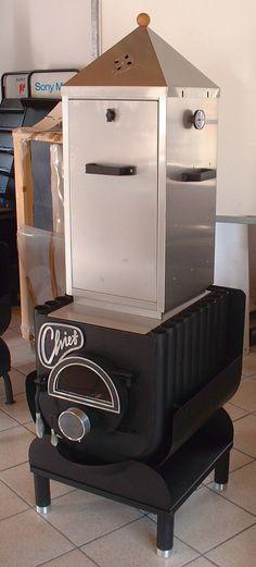 Chief Holzofen 14 kw für Räume bis 400 m³ Warmluftofen öfen - holzofen für küche