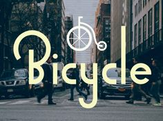 Bicycle Sans Free Typeface Bicycle Sans is a Free geometric sans serif typeface which can work great on projects like restaurants branding, Logo type, Posters and many more. Free Typeface, Sans Serif Typeface, Web Design, Logo Design, Graphic Design, Commercial Fonts, Brand Fonts, Free Fonts Download, Font Free