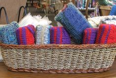 Sweaters for purse-size tissue packets