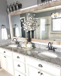 diy bathroom remodel ideas is totally important for your home. Whether you choose the serene bathroom or bathroom remodel beadboard, you will create the best diy bathroom remodel ideas for your own life. Master Bath Remodel, Tub Remodel, Bathroom Inspiration, Bathroom Ideas, Bathroom Colors, Bathroom Designs, Simple Bathroom, Grey Bathroom Decor, Mirror Inspiration