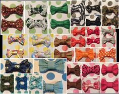 Baby Hair Bows-48 pack by MouseEarsCreations on Etsy