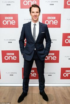 Star of the show: Benedict Cumberbatch, 40, admitted his actress mother Wanda Ventham thou...