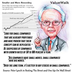 https://flic.kr/p/VMBzyc   peter lynch, small caps, American investor, mutual fund manager, philanthropist, small cap investing, GARP, value investing, Magellan Fund, Fidelity investments