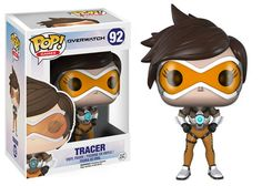 Pop! Games: Overwatch Fight for the future in Overwatch, Blizzard Entertainment's upcoming team-based shooter featuring a vibrant cast of soldiers, scientists, adventurers, and oddities!  Form a team of your favorite Overwatch heroes with our brand-new Pop! lineup, including the time-jumping test pilot Tracer, the mysterious mercenary Reaper, and the ice-cold assassin Widowmaker.   Round out your roster with the super-intelligent, genetically enhanced gorilla Winston—a super-sized 6-inch…