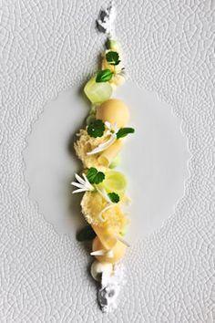 Dessert by belgian top-patissier Roger Van Damme Food Styling, Food Photography Styling, Weight Watcher Desserts, Mini Desserts, Plated Desserts, Cupcakes, Chefs, Dessert Mousse, Dessert Presentation
