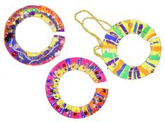 african paper plate neclaces.  ppt? divide into rows and color in patterns.  glue feathers beads etc.