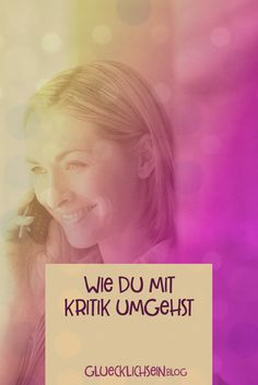 Kritik ist ein wichtiger Faktor, wenn du Erfolg haben möchtest. Nur durch Kritik wirst du angespornt und merkst, wie wichtig dir etwas ist. Angst, Motivation, Blog, Movies, Movie Posters, Self Confidence, Self Awareness, Self Love, Tutorials