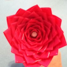 DIY: Duck tape flower