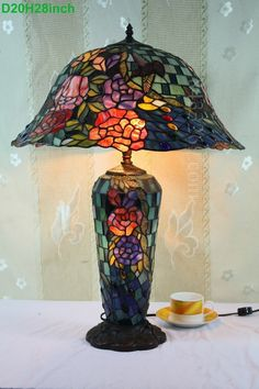 Rose Tiffany Lamp 20S0-52ST93