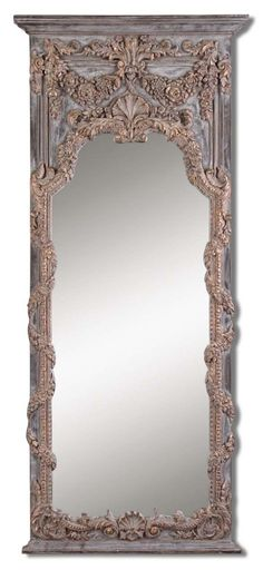 This antique style mirror is absolutely captivating. Such exquisite detail work. (Via @Amy Lyons Lambert Lee)