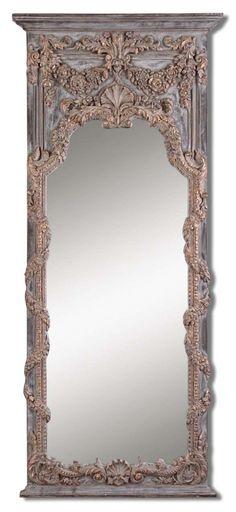 ornate Rococo style mirror