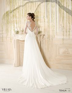 Tenua | Villais Couture 2016 Wedding Dress - 3