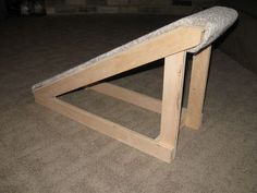 Instructions for a doggie ramp! :)