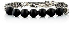 EMANUELE BICOCCHI Beaded & Braided-Chain Bracelet. #emanuelebicocchi #bracelet