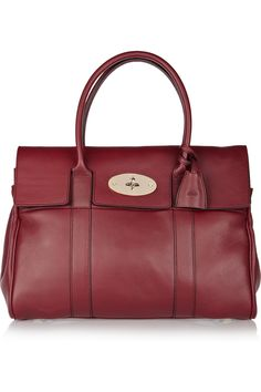 66068f1f1b Mulberry - The Bayswater textured-leather bag