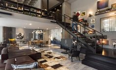 Loft 44 has been completed by the Balneário Camboriú based studio CASAdesign Interiores. This 2,368 square foot, enchanting modern apartment has been designed for a married couple with a busy life..