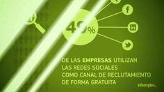 I Informe Infoempleo sobre Redes Sociales y Mercado de Trabajo en España #empleoyredes, via YouTube.