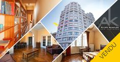 VENDU - Appartement 3 chambres avec vue sur Meuse à Liège.