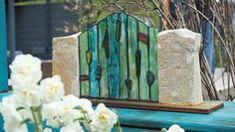 MAUER AUS STEINEN UND GLAS - Google-Suche Bookends, Google, Painting, Home Decor, Art, Searching, Corning Glass, Art Background, Decoration Home