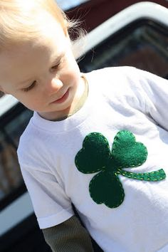 DIY St Patricks Day shirt