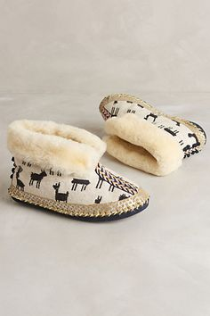 Lilka Pommed Slipper Booties  #anthrofave #anthropologie  #home