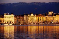 Quai du Mont-Blanc, Geneva  Number three: Geneva, Switzerland Super sleek, slick and cosmopolitan, Geneva is a gem of a city superbly strung around the sparkling shores of Europe's largest Alpine lake.      Witold Skrypczak Lonely Planet Photographer  © Copyright Lonely Planet Images 2011