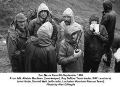 Ben Nevis Race 1980 [John Hinde of RAF Mountain Rescue ~ diaries include selected articles from his time on RAF MR service].