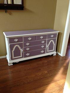 Dresser redone by www.thecraftymarine.com
