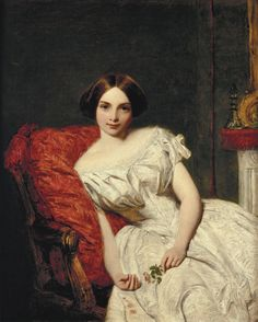 Annie Gambart, by William Powell Frith (1819-1909)
