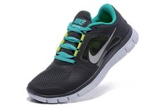 the best attitude 9dff4 535e7 Nike Running Free Run Hommes Chaussure Charbon De  Bois Sarcelle Volt Reflète Argent,Latest trainers arrive - order from us  with good price.