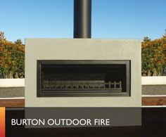 Trendz Outdoors has a wide range of outdoor fireplaces delivered, for free, across New Zealand. From small outdoor fireplaces to large, we stock it. Modern Outdoor Fireplace, Outdoor Fireplace Designs, Outdoor Fireplaces, Outside Fireplace, Deck Fireplace, Outdoor Cooking, Outdoor Entertaining, Patio Design, Garden Design